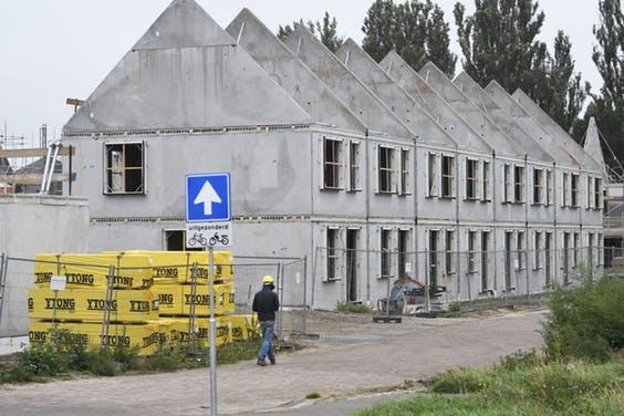 Prijs nieuwbouw woningen stijgt met 17 procent